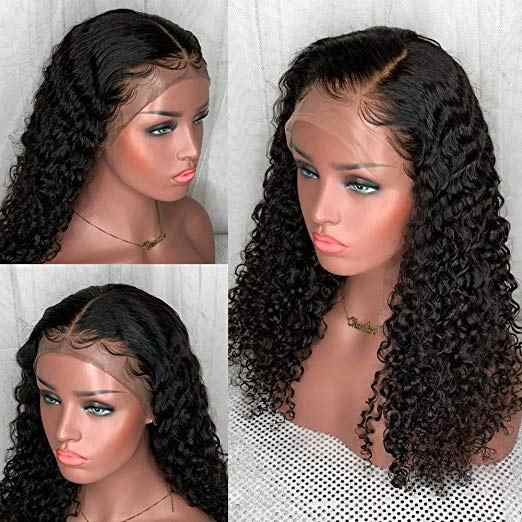 18 inch Curly Lace Front Wig